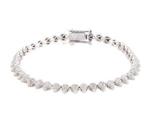 【送料無料】ブレスレット アクセサリ― ドルエディボルゴスワロフスキークリスタルシルバーミニコーンブレスレット175 eddie borgo swarovski crystal pave silver mini cone bracelet