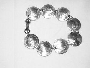 【送料無料】ブレスレット アクセサリ― ダイムbracelet ̄nicelymercury dime bracelet~nicely domed