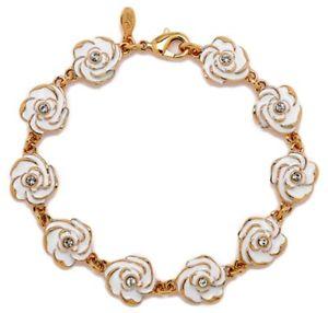 【送料無料】ブレスレット アクセサリ― ジョアンリバースホワイトガーデニアブレスレットjoan rivers white gardenia bracelet rare