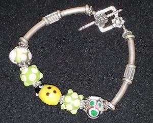 【送料無料】ブレスレット アクセサリ― silpadaスターリングlampworkガラステントウムシトグルブレスレットsilpada sterling lampwork glass beads ladybug toggle clasp bracelet