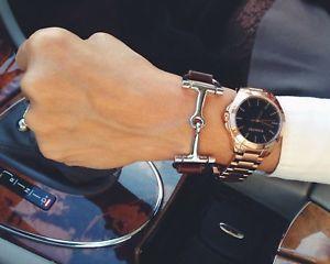 【送料無料】ブレスレット アクセサリ― ブレスレットブレスレットシルバーブレスレットequestrian bracelet, horse bracelet, silver snaffle bracelet c1