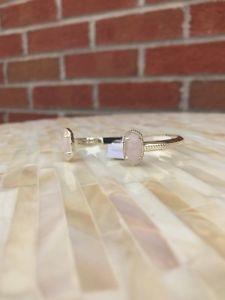 【送料無料】ブレスレット アクセサリ― スコットカフブレスレットローズクォーツゴールドタグnwt kendra scott elton cuff bracelet rose quartz gold w tags