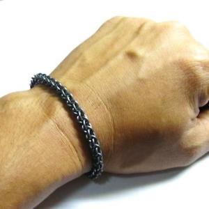 【送料無料】ブレスレット アクセサリ― 925スターリングリンクブレスレットジェンpindチェーンmaillecustom oxidized 925 sterling silver circle link bracelet jen pind chain maille