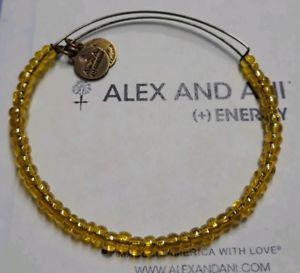 【送料無料】ブレスレット アクセサリ― アレックスシービーズゴールドブレスレットalex and ani yellow translucent sunflower sea bead gold expandable bracelet