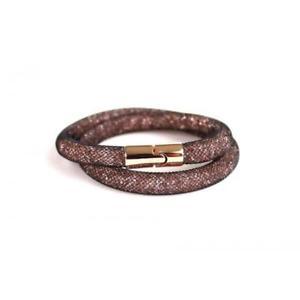 【送料無料】ブレスレット アクセサリ― gifting38* cmスワロフスキーブレスレットブラウン5119505*swarovski stardust bracelet brown 5119505 *brand in sealed gifting box* 38cm