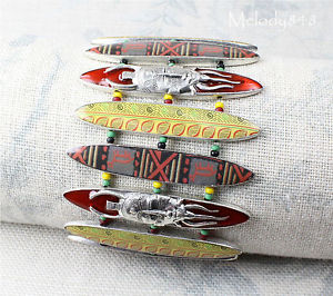 【送料無料】ブレスレット アクセサリ― ヴィンテージpilgrimブレスレットafro funkシルバーレッドbnwtvintage pilgrim wide bracelet afro funk silver red enamel tribal trade art bnwt
