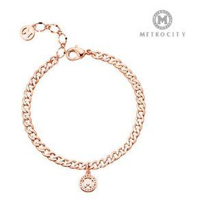 【送料無料】ブレスレット アクセサリ― ブレスレットピンクゴールドメッキmetrocity bracelets 278hmbrp pink gold plated brass