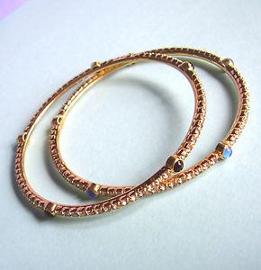 【送料無料】ブレスレット アクセサリ― ブレスレットドール407two bracelets dore and rhinestones