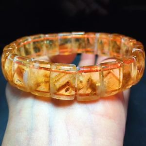 【送料無料】ブレスレット アクセサリ― シトリンピラミッドビーズブレスレット377g natural yellow citrine pyramid quartz crystal rectangular beads bracelet