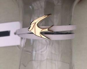 【送料無料】ブレスレット アクセサリ― アレキサンダーマックイーンレザーストラップブレスレットmcq alexander mcqueen leather strap bracelet bnwt