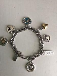 【送料無料】ブレスレット アクセサリ― ブライトンブレスレットbrighton bracelet 2007 limited edition peace charms 2007