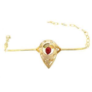 【送料無料】ブレスレット アクセサリ― イェローゴールドスターリングナシブレスレットyellow gold plated sterling silver adjustable pear rose floral bracelet jewelry
