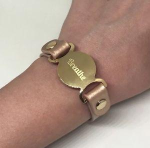 【送料無料】ブレスレット アクセサリ― 1デザインズジュエリーcustomブレスレットピンクpremier designs jewelry custom breathe bracelet engrave pink blush gold leather