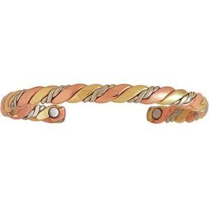【送料無料】ブレスレット アクセサリ― シェルパロープセルジオブレスレットアメリカハンドメイドsherpas rope sergio lub copper magnetic therapy bracelet handmade in usa