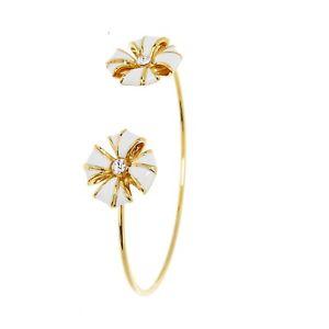 【送料無料】ブレスレット アクセサリ― テッドベーカーカフブレスレットゴールドホワイトサイズted baker cuff bracelets gold white one size gift