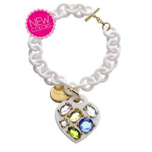 【送料無料】ブレスレット アクセサリ― ブレスレットops bracelet ops opsbr stone woman white 173
