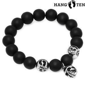 【送料無料】ブレスレット アクセサリ― ハングタイガーアイビーズブレスレットストレッチhang ten mens assorted stretch genuine tiger eye lava bead bracelets