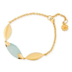 【送料無料】ブレスレット アクセサリ― ロンドンヘラアクアブレスレットazuni london hera 18ct gold plated aqua chalcedony bracelet