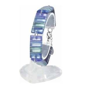 【送料無料】ブレスレット アクセサリ― カリュプソーブレスレットcalypso ocean mist multi coloured silvered resin bracelet
