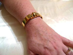 【送料無料】ブレスレット アクセサリ― ミハエルステンレススチールブレスレットドルmichael kors 65 womens gold plated stainless steel bracelet r234 115