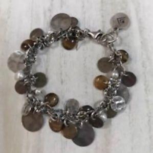 【送料無料】ブレスレット アクセサリ― スターリングシルバーパールブレスレットsilpada sterling silver brass copper pearl bracelet b1853 euc