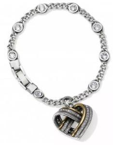 【送料無料】ブレスレット アクセサリ― ブライトンブレスレットbrighton neptune's rings woven heart bracelet