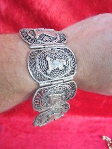 【送料無料】ブレスレット アクセサリ― ブレスレットbeautiful, old bracelet __ egypt __ silver ___