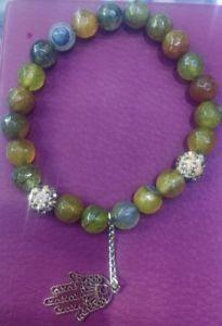 【送料無料】ブレスレット アクセサリ― モロッコファーティマビーズチェーンブレスレットvinatge moroccan fatima hand evil eye beaded charm chain bracelet