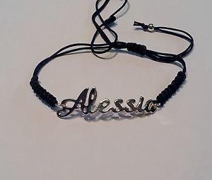 【送料無料】ブレスレット アクセサリ― ブレスレットbracelet with name alessia