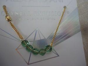 【送料無料】ブレスレット アクセサリ― アレックスクリスタルブレスレットkゴールドメッキカードボックスalex and ani sprout crystal infusion bracelet 14k gold plated w card amp; box