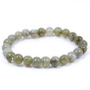 【送料無料】ブレスレット アクセサリ― ビーズクリスタルストーンブレスレットlabradorite 8mm beads crystal stone bracelet