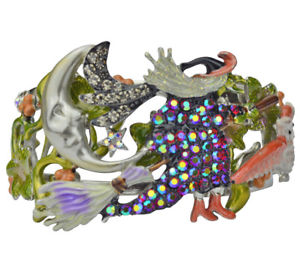 【送料無料】ブレスレット アクセサリ― カフブレスレットkirks folly witches brew cuff bracelet silvertone