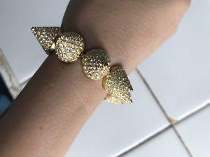 【送料無料】ブレスレット アクセサリ― エディボルゴゴールドブレスレットeddie borgo gold bracelet