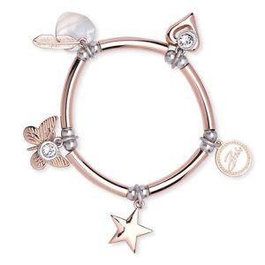 【送料無料】ブレスレット アクセサリ― ベストセラーbibiローズスパゲッティ bestselling bibi bijoux rose gold spaghetti charm bracelet