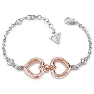 【送料無料】ブレスレット アクセサリ― ゲスグレースローズブレスレットubb84045lguess grace rose gold plated ladies bracelet ubb84045l