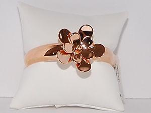 【送料無料】ブレスレット アクセサリ― ミハエルローズゴールドトーンカフブレスレットドルmichael kors rose gold tone floral cuff bracelet nwt 145