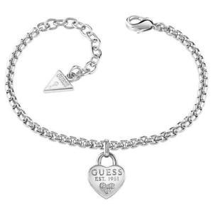 【送料無料】ブレスレット アクセサリ― レディースブレスレットguess all about shine ladies bracelet ubb82104l
