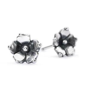 【送料無料】ブレスレット アクセサリ― スターリングシルバーピアスジャスミンtrollbeads sterling silver earrings jasmine tagea 00084