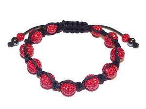 【送料無料】ブレスレット アクセサリ― キャンディレッドクリスタルブレスレット¥candy bling red crystal amp; hematite friendship bracelet rrp 80