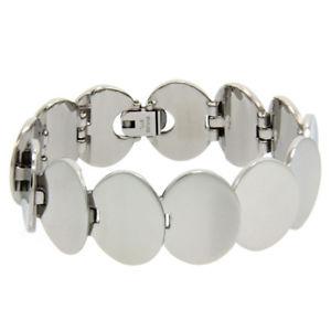 【送料無料】ブレスレット アクセサリ― ステンレススチールリンクブレスレットインチwomen 20mm stainless surgical steel oval shape link bracelet 7 inches