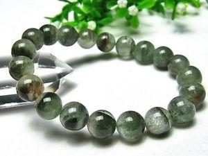 【送料無料】ブレスレット アクセサリ― 10mm3aブレスレットgift bl9210mm rare 3a natural green phantom quartz crystal round beads bracelet gift bl92