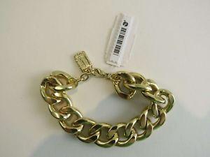 【送料無料】ブレスレット アクセサリ― スルタンリンクブレスレットゴールドkarine sultan jewelry link bracelet gold c127