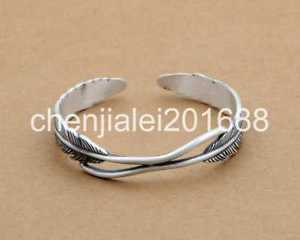 【送料無料】ブレスレット アクセサリ― スターリングシルバーフェザーイーグルブレスレットpure s999 sterling silver feather eagle womens bracelet