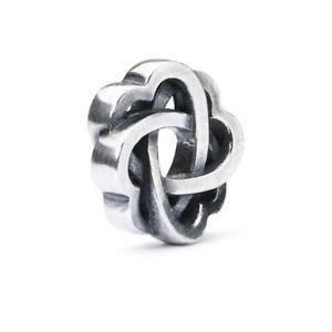 【送料無料】ブレスレット アクセサリ― オリジナルビーズtrollbeads original beads silver interlacements love tagbe 30142