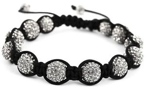 【送料無料】ブレスレット アクセサリ― キャンディグレークリスタルブレスレットヘマタイトcandy bling grey crystal friendship bracelet with hematite rrp 6995