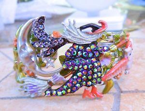 【送料無料】ブレスレット アクセサリ― カークカフスブレスレットsilvertoneハロウィーンkirks folly witches brew cuff bracelet  silvertone halloween