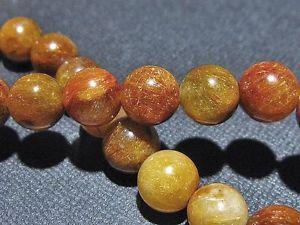 【送料無料】ブレスレット アクセサリ― ブレスレットgift bl318110mm3atitinブロンズルチル10mm 3a natural titin golden bronze rutilated quartz round bracelet gift bl3181