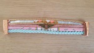 【送料無料】ブレスレット アクセサリ― ブレスレットサーモンサイズhipanema bracelet salmon sweet boho armkette size s armkette