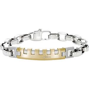 【送料無料】ブレスレット アクセサリ― スチールブレスレットメンズスピードウェイコレクションbliss jewelry, steel bracelet mens speedway collection 20061546,