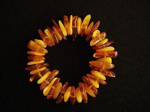 【送料無料】ブレスレット アクセサリ― ビンテージリアルナチュラルオレンジブレスレットvintage real natural amber bracelet women gift nr 5142